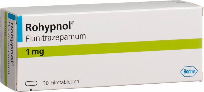 Flunitrazepam rohypnol 2mg