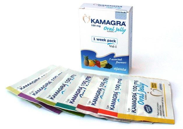 Kamagra Oral Jelly Weekpack