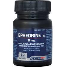 effect van ephedrine